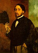 """New artwork for sale! - """" Self Portrait  by Edgar Degas """" - http://ift.tt/2pdIe1j"""
