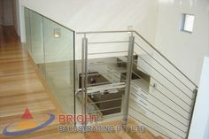 Stainless Steel Rod Balustrade:-Stainless steel double flat bar posts with pin & OD top rail with OD horizontal rod infills. Stainless Steel Balustrade, Stainless Steel Rod, Metal Working, Furniture, Home Decor, Decoration Home, Metalworking, Room Decor, Stainless Steel Bar
