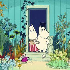 the moomins sure la riviera Tove Jansson, Illustrations, Children's Book Illustration, Botanical Illustration, Moomin Books, Moomin Mugs, Les Moomins, Yule, Flame Tree