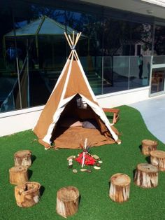 Camp play at Barton campus - image shared by Only About Children