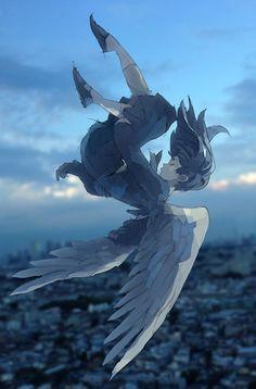 Resultado de imagem para fallen angel anime girl