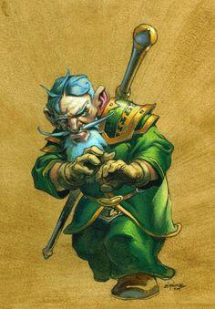 #warcraft #gnome #mage