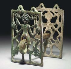 A LURISTAN BRONZE HORSEBIT CIRCA 8TH-7TH CENTURY B.C.