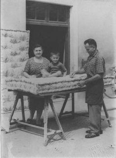 Ritratto maschile - Materassaio - Lavori artigianali - Canneto sull'Oglio