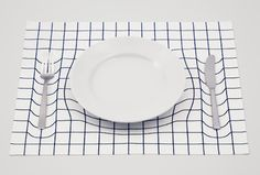 Japanese design studio A.P. Works has created a placemat made from twill fabric with a silk-screen pattern that uses the strategic placement of cutlery and plates to manipulate the illusion of the latter bending the placemat. Sadly, however, the placemat is not in commercial production yet… all the more reason to scrawl away on your […]