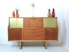 Vintage 1960's teak sideboard by Jentique Stuning