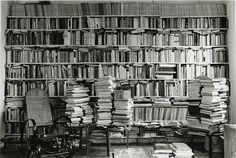 """ Babette Mangolte, Annette Michelson's Bookshelves on the Upper West Side in 1976, 1976 """