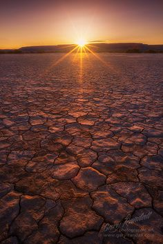 Sunrise Over the Alvord Desert, Oregon