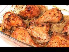 Pollo al Horno con Patatas y Cebolla - YouTube