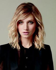 Frisuren Für Mittellange Haare Fashion Pinterest