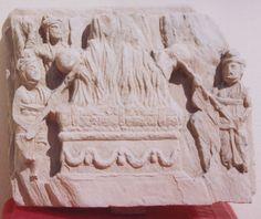 Cremation of the Buddha Gandhara Archives Kurita