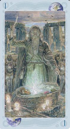 Sacred Sites Tarot, I. The Magician