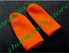 Orange Finger Protector for Hair Extensions, Hair Extension Tools, 100pcs Per Lot, FREE SHIPPING!