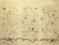 Papier peint à motifs fait main GRETA WGC-401 Paul Montgomery Studio