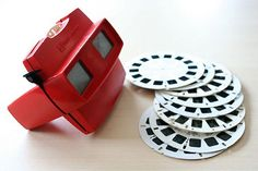 VIEW MASTER!  I remember having reels for The Partridge Family, Mighty Mouse, Hong Kong Phooey, and scenic Cape Cod