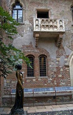 Balcón de Julieta. Verona. Italy. De Google +