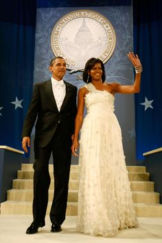President Barack Obama and Michelle Obama - Inauguration Ball, January 20, 2009.