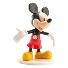 Plastikowa figurka Myszki Mickey - idealna jako ozdoba na tort