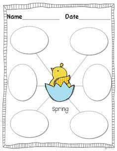 Miss Kindergarten: Peeps in a Basket