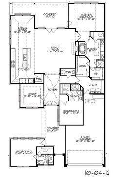 Kinsley New Home Plan In Cinco Ranch Northwest Wentworth - Trendmaker Homes Floor Plans