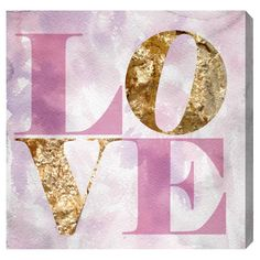 Oliver Gal Love Pastel Canvas Wall Art @LaylaGrayce