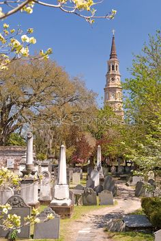 St. Phillips Church and graveyard charleston sc - Google Search