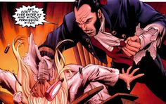 Sebastian Shaw slams Emma Frost for entering his mind without permission.