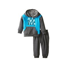 Quiksilver Baby Boys Fleece Hoody with Pockets Blue 24 Months -- Check this awesome product by going to the link at the image. (This is an affiliate link) #BabyBoyHoodiesandActive