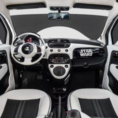 Garage Italia Customs, voici un modèle unique de Fiat 500e Stormtrooper pour les fans de la Saga #StarWars #cars #automobile #voiture