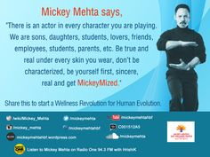 Quote to inspire your daily life... #mickeymize #life #characters #relationship