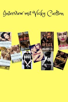 10 Fragen an Vicky Carlton Interview, Becoming A Writer, Romances, Writing A Book, Revenge, Authors, Erotic