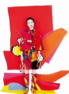 May Blossoms: Naty Chabanenko by Erik Madigan Heck for Harper's Bazaar UK May 2015