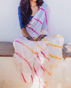 Are you searching for the best quality Elegant Indian Sari also things like Modern Saree and Latest Elegant Sari Blouse then CLICK Visit link above to read Indian Attire, Indian Wear, Indian Style, Churidar, Patiala, Lehenga, Anarkali, Lehriya Saree, Modern Saree