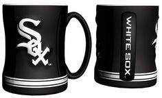 Chicago White Sox Coffee Mug - 14oz Sculpted Relief
