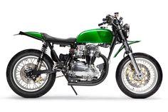 Custom Kawasaki W650 by Deus Venice.