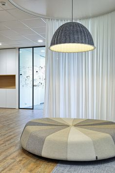 office interior by idstudio lamp from Muuto