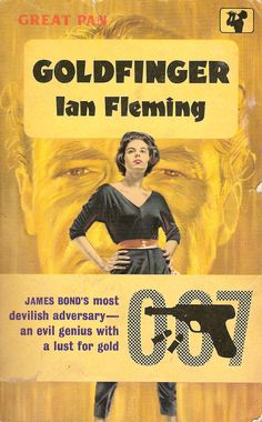 "Matthias S: #FridayReads ""Not on my Cybook, just in Paper! A classic Thriller: By Ian Fleming: Goldfinger! I don't know if Bond is available as e-book! A break for my Reader and time to load :) Happy Weekend!"""