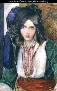 A Turkish Girl  John Frederick Lewis