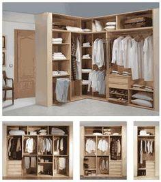 1000 images about armarios on pinterest interiors - Como organizar un armario empotrado ...