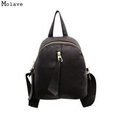 797a951f91df Mara s Dream Women Backpack Fashion PU Leather Ladies Feminine Backpack For Teenage  Girls School Bag Solid Mini Small Backpack