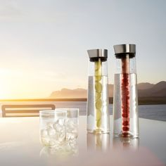 Jégakkus carafe ** Cooling carafe, The carafe can be used with or without the cardridge. The cardridges are available seperately.