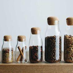 Kinto | Bottlit 300 ml Canister | Glass Storage Jar