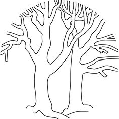 coloring pages bare trees bare trees printable version - Bare Tree Coloring Pages Printable