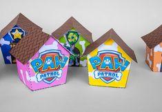 PAW PATROL Gift box set Favor Box Printable for by IraJoJoBowtique