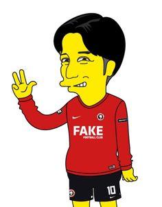 Simpson Style Caricature [FAKE F.C.] 심슨 스타일 캐리커쳐[페이크 에프씨]