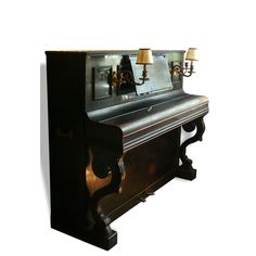 Piano droit XIXème K Bord