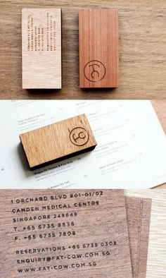 stylish-laser-etched-wooden-business-card-design-for-a-restaurant