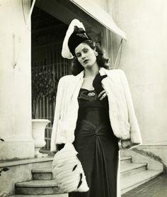 Aline Johnson De Menocal ( Havana Glamour Girl ) 1946 Photographer-Nina Leen