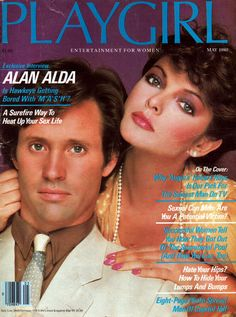 This is so damn fag that my eyes are lapdancing in thong man! Robert Hays & Marjorie Andrade photographed by Matthew Rolston for US Playgirl May 1980 Magazine. Image via magazine-empire.com D.R. Robert Hays, Alan Alda, Successful Women, Sexy Men, Interview, Guys, Magazine Covers, Empire, Image