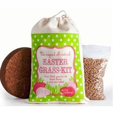 Grow your own Easter grass and ditch the plastic kind. Love this!